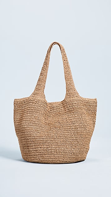 Hat Attack Carryall Tote Bag - Toast