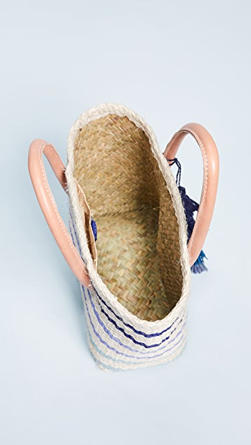 Hat Attack Small Provence Tote Bag