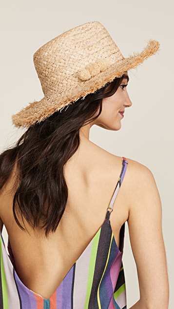 Hat Attack Fringed Continental Hat