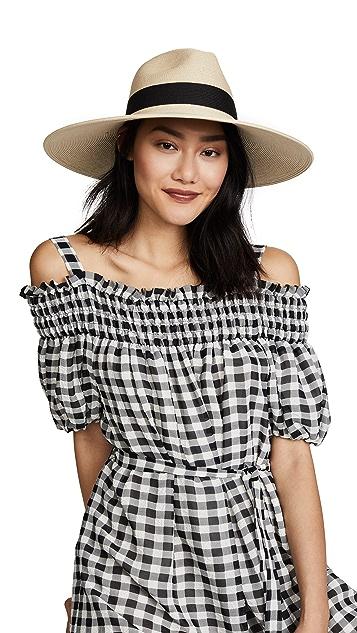 Hat Attack Fine Braid Inset Continental Hat