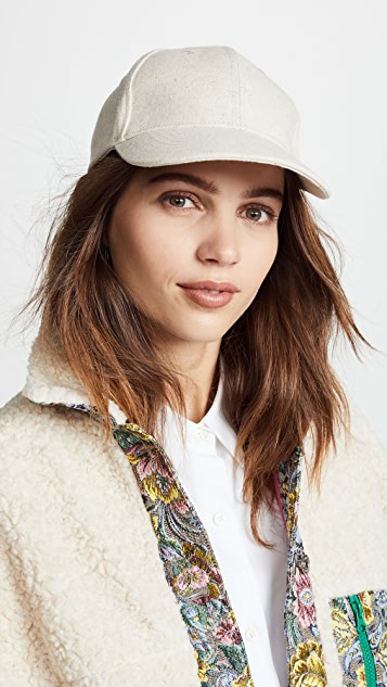 Hat Attack Linen Baseball Cap