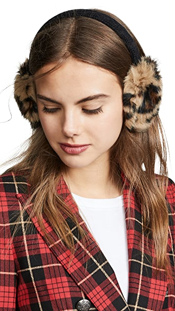Hat Attack Luxe Knit Rabbit Earmuffs