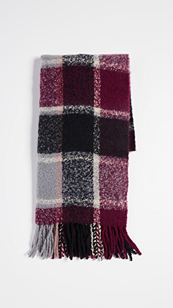 Hat Attack Cozy Colorblock Scarf