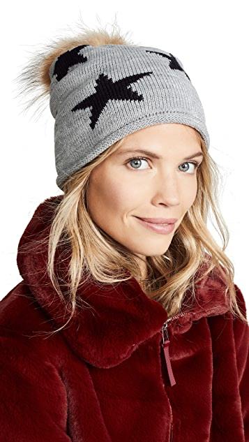 Hat Attack All Star Luxe Pom Hat