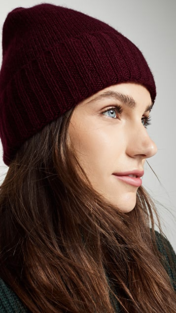 Hat Attack Cashmere Slouchy Cuff Hat