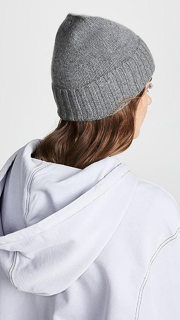 Hat Attack Шапка из кашемира с напуском и отворотом
