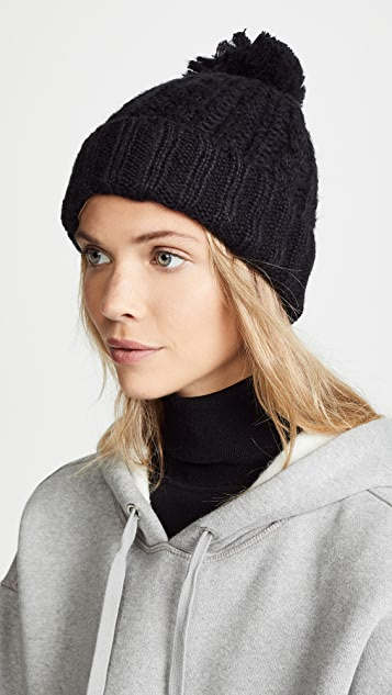 c9204ec4d46 Hat Attack Soft Cable Beanie Hat