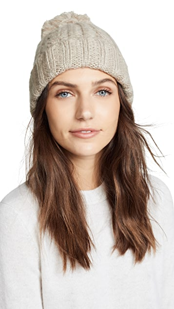 Hat Attack Soft Cable Beanie Hat