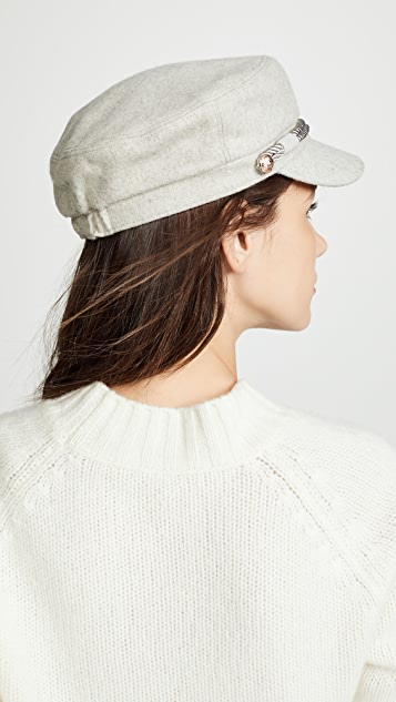 Hat Attack Emmy Cap with Interchangeable Rope Band