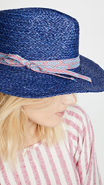 Hat Attack Tulum Rancher Hat - Navy