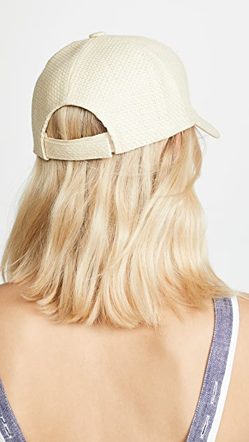Hat Attack Straw Baseball Hat
