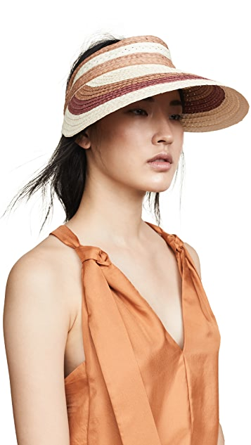 Hat Attack Summer Stripe Visor