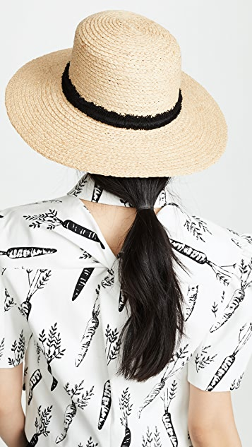Hat Attack 经典平顶硬草帽