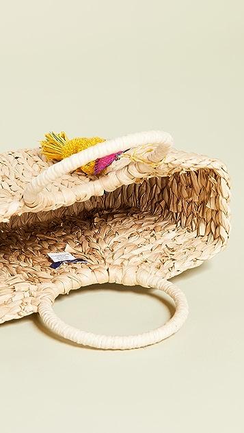 Hat Attack 小号圆形提手手提包