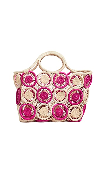 Hat Attack Large Macrame Tote