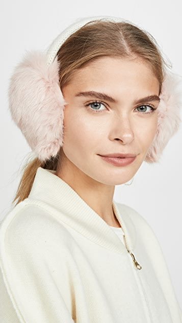 Hat Attack Knit Rabbit Earmuffs