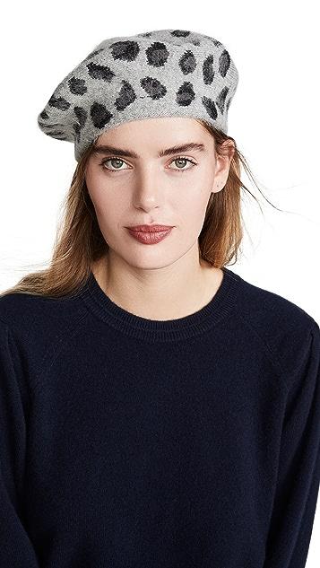 Hat Attack 豹纹贝雷帽