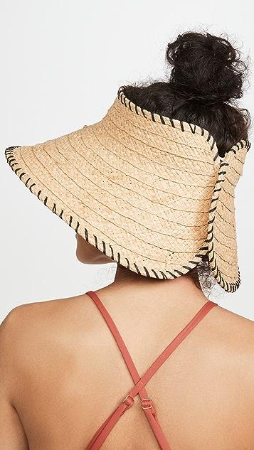 Hat Attack 迷你卷式鸭舌系带帽