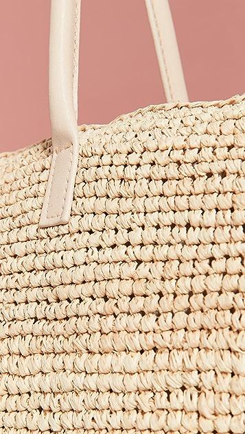 Hat Attack Объемная сумка с короткими ручками Chic