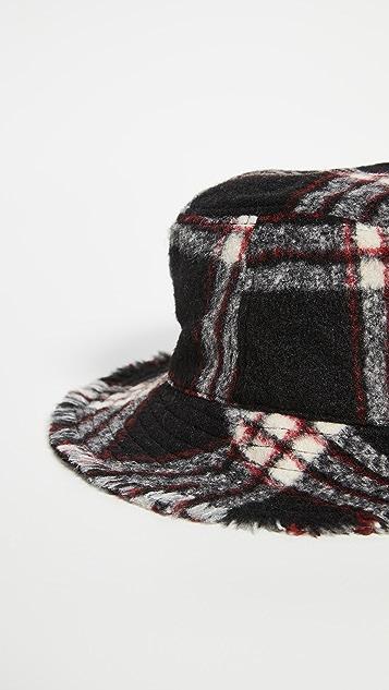 Hat Attack Flannel Bucket Hat