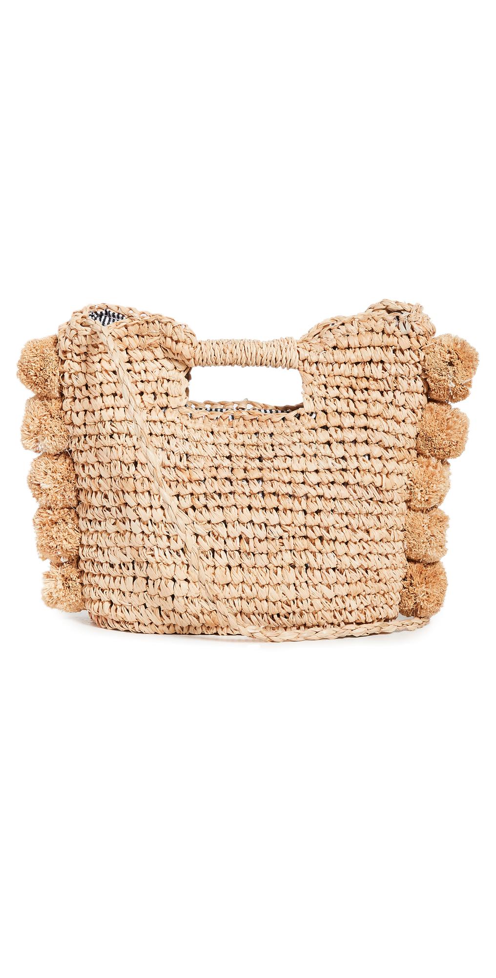 Mini Pom Crossbody Bag