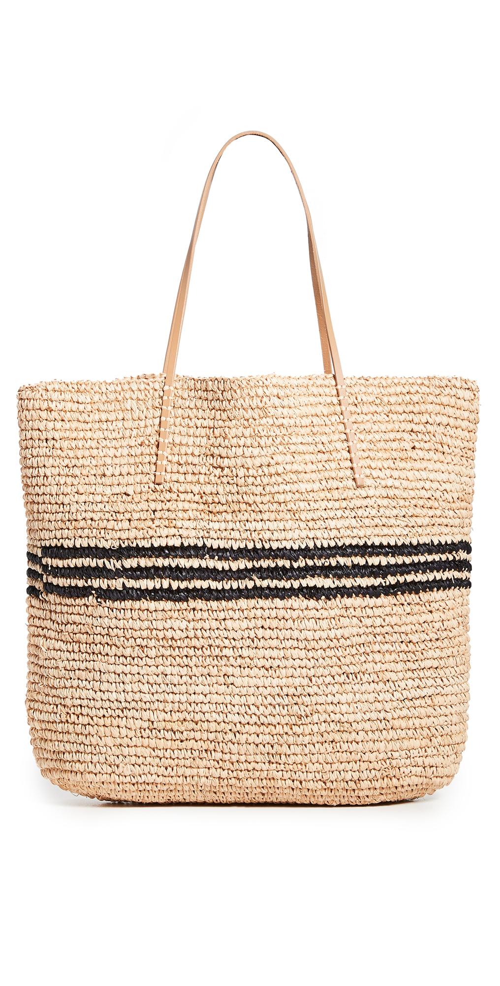 Luxe Stripe Tote Bag