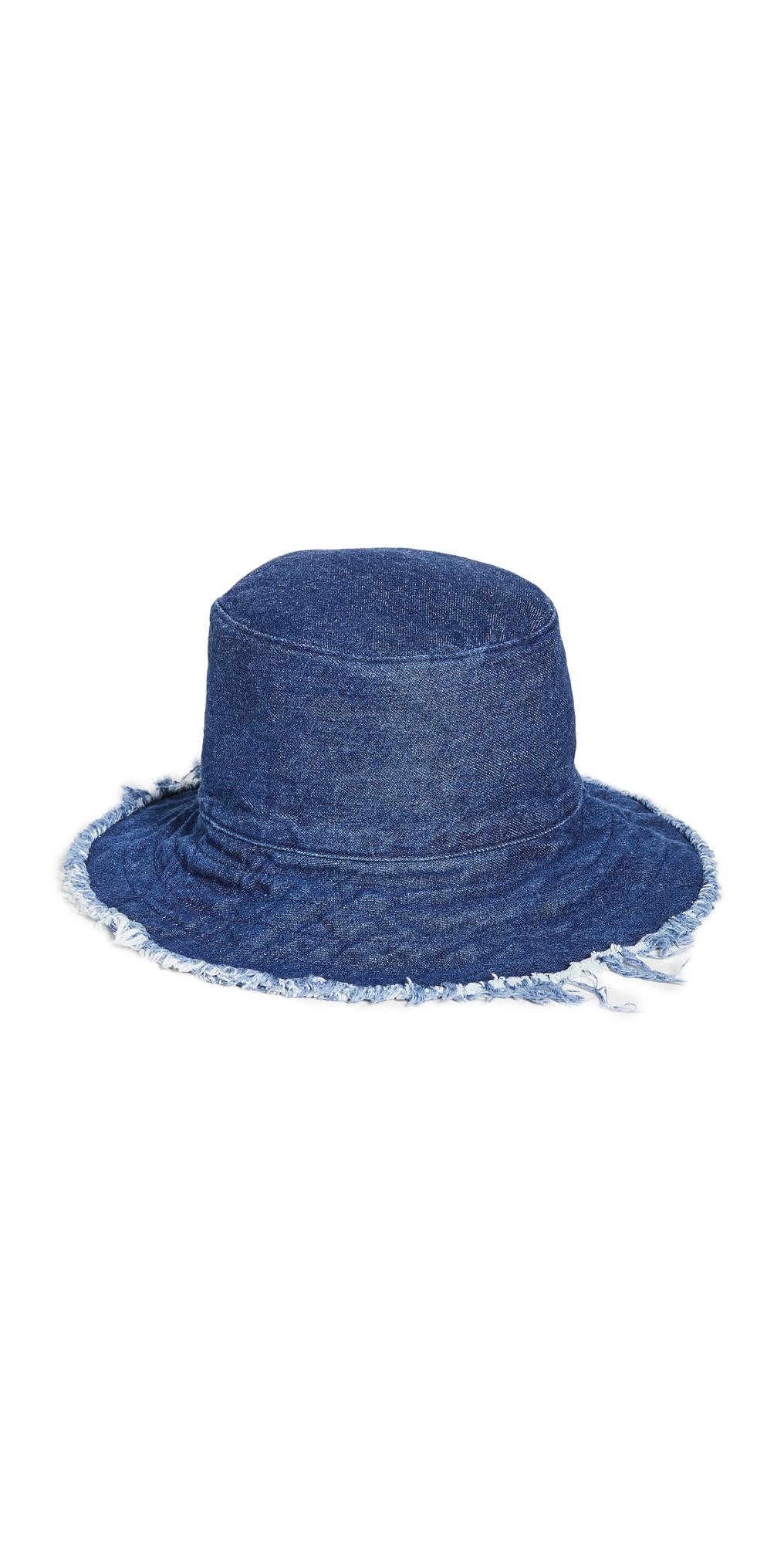 Frayed Edge Crusher Bucket Hat