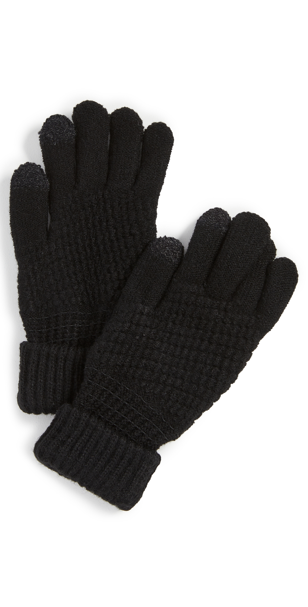 Lined Knit Touch Screen Gloves