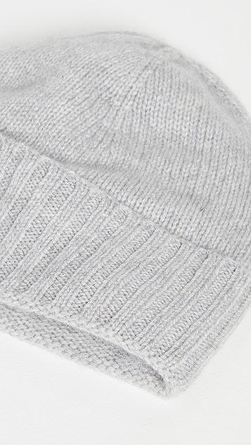 Hat Attack 开司米羊绒帽口休闲毛线帽