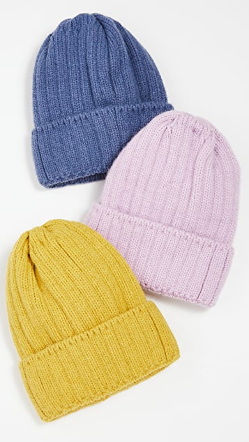 Hat Attack Color Story Knit Beanie