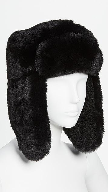 Hat Attack Apres Sherpa Trapper Hat