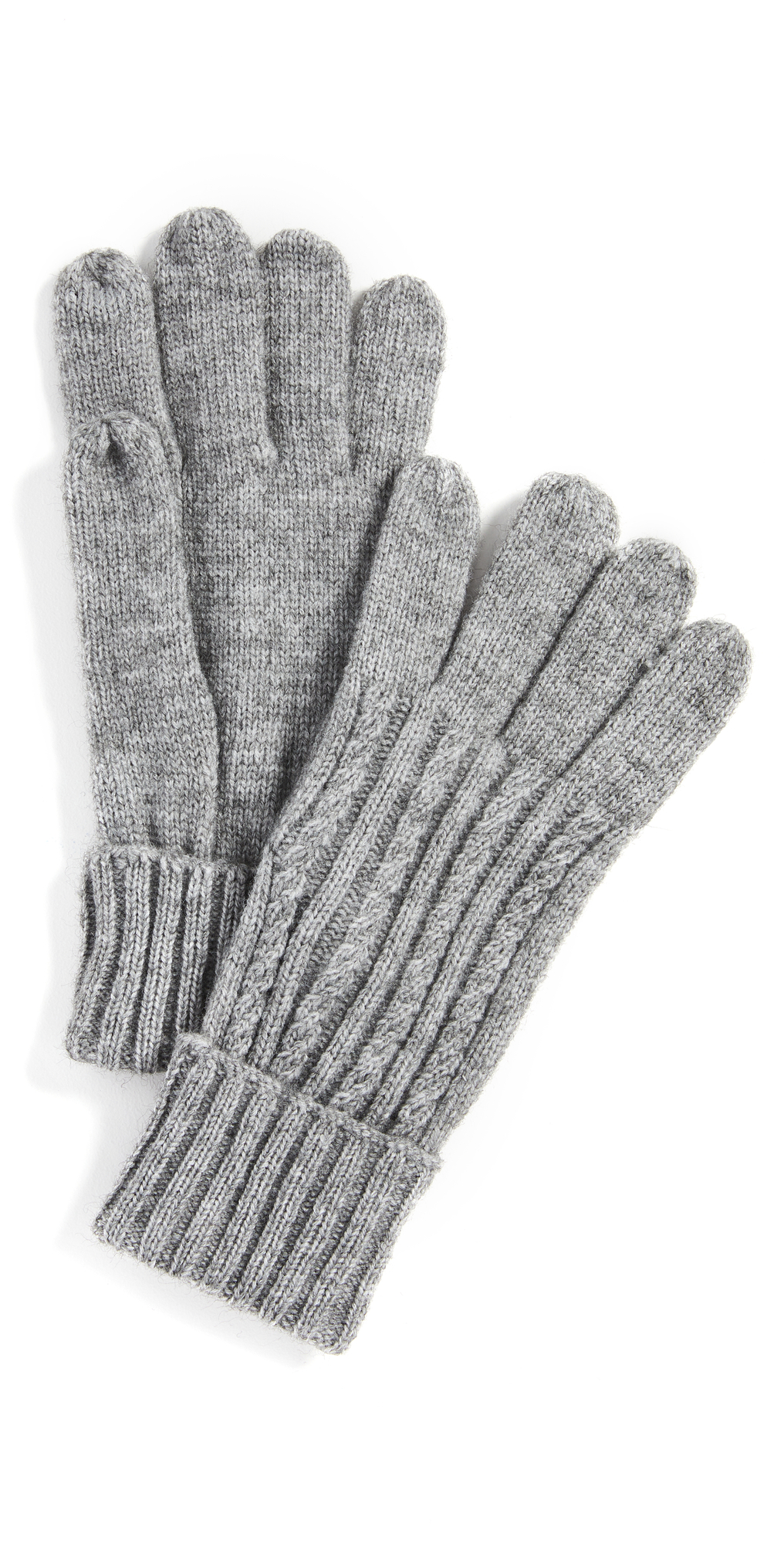 Cable Knit Touch Screen Gloves