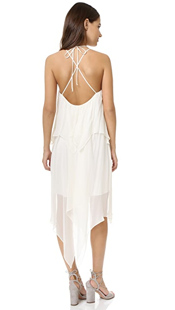 Haute Hippie Two Tier Strappy Dress
