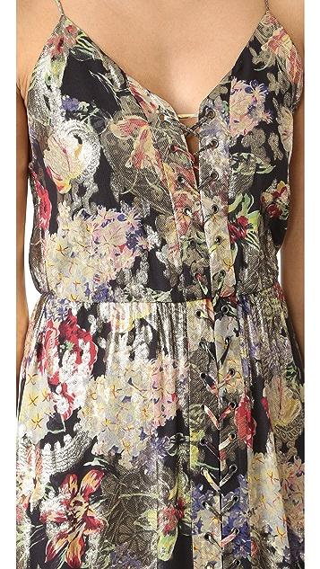 Haute Hippie Lace Up Front Dress