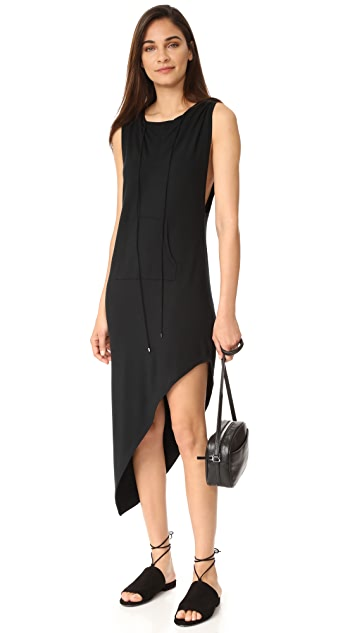 Haute Hippie Sleeveless Hoodie Dress