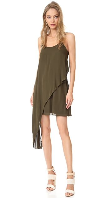 Haute Hippie Мини-платье в стиле майки