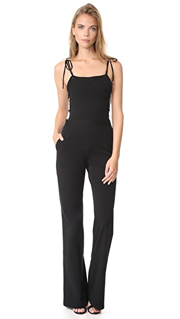 Haute Hippie Strappy Jumpsuit