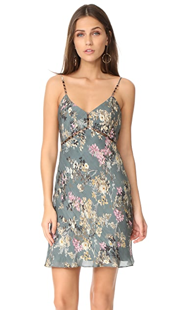 Haute Hippie Chain Cami Slip Dress