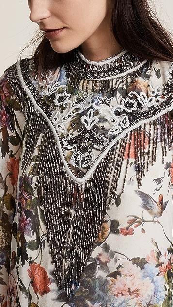 Haute Hippie Through the Looking Glass Dress