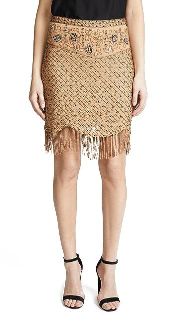 Haute Hippie Devere Miniskirt