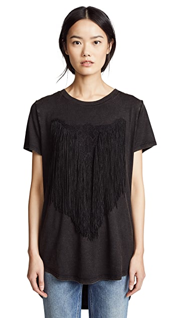 Haute Hippie Longhorn T-Shirt