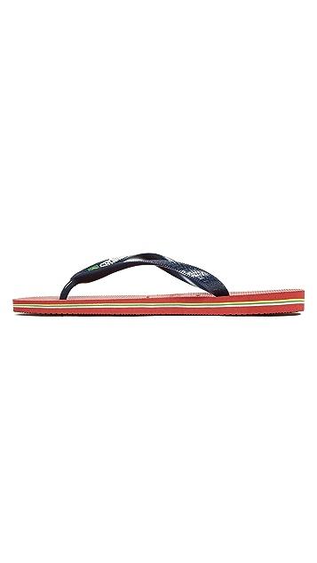 Havaianas Brasil Flip Flops