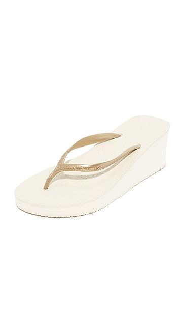 Havaianas High Fashion Wedge Sandals
