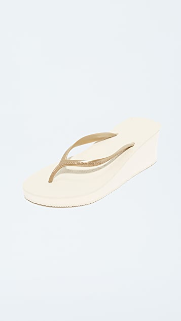 Havaianas High Fashion Wedge Sandals
