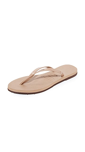 c6d9433bb49e Havaianas You Metallic Flip Flops