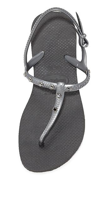 Havaianas Freedom Crystal Sandals