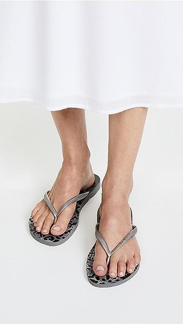 Havaianas Slim Animal Flip Flops