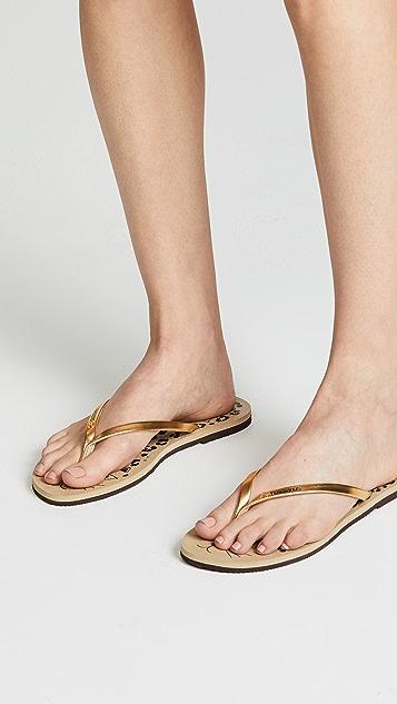 36e08c67596 ... Havaianas x Charlotte Olympia Flip Flops ...