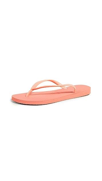 Havaianas 细带夹趾拖鞋