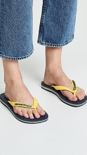 0e1406688779f2 ... Havaianas Brazil Logo Flip Flops ...